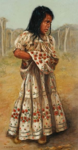 'The Flowered Dress'