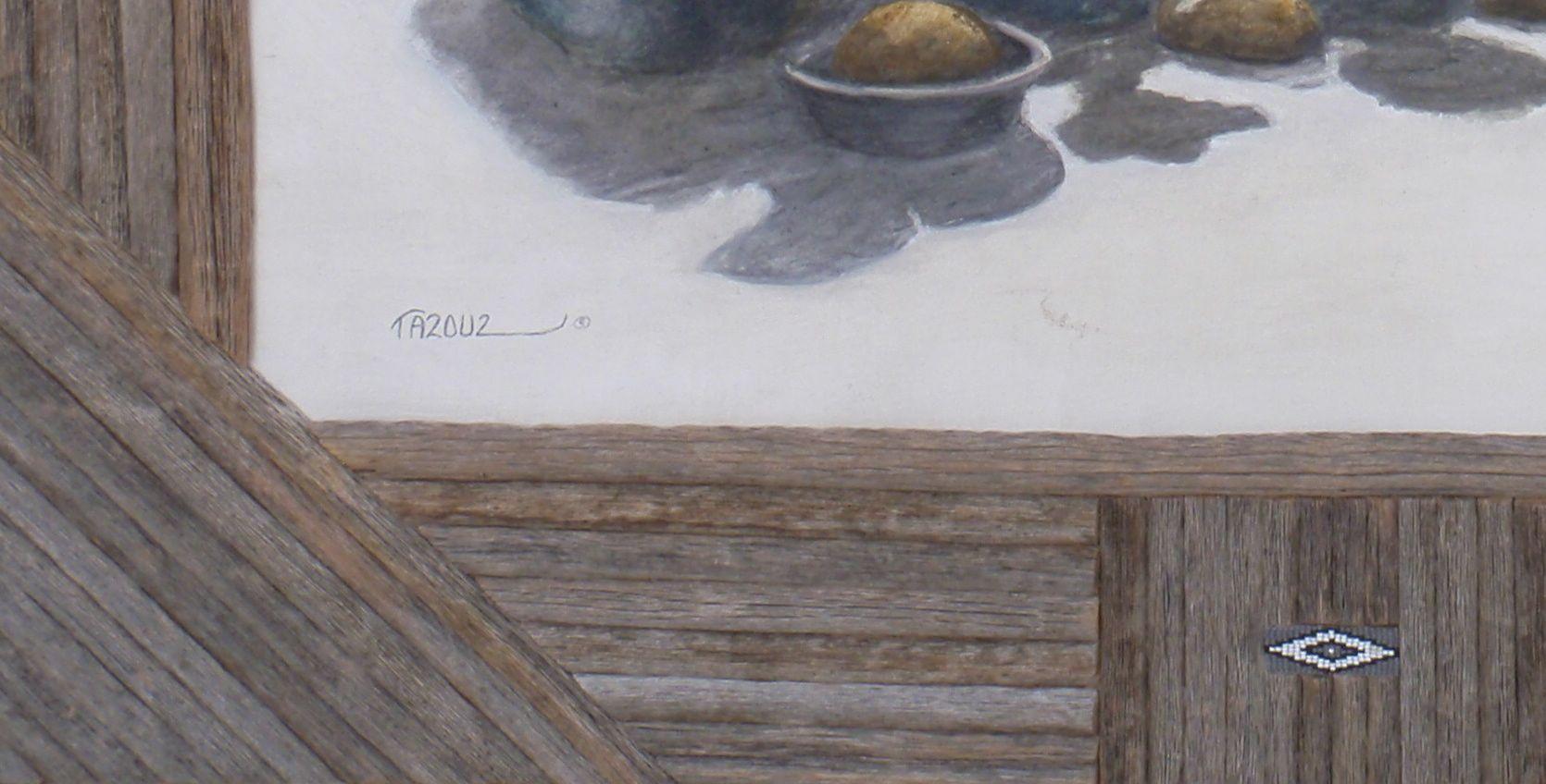 'Saguaro Rib and Bead Detail'