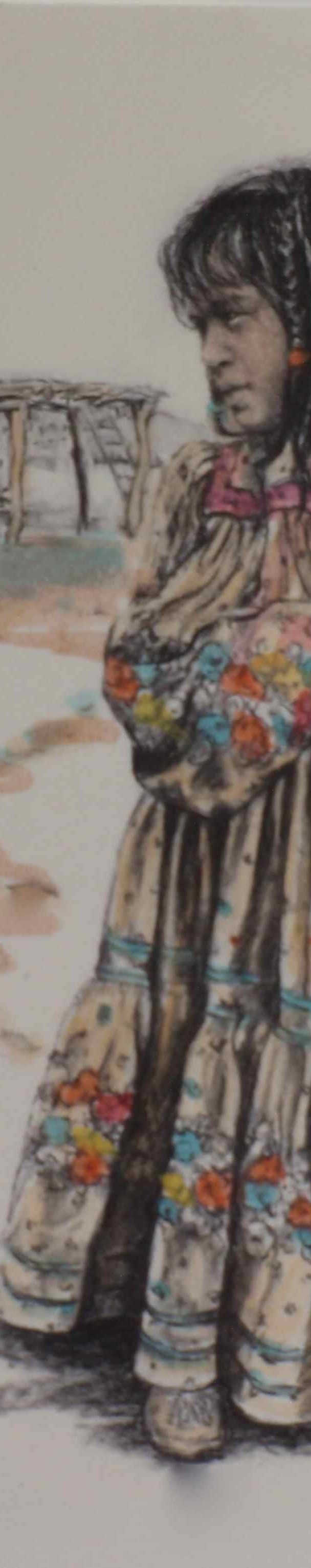 'The Flowered Dress