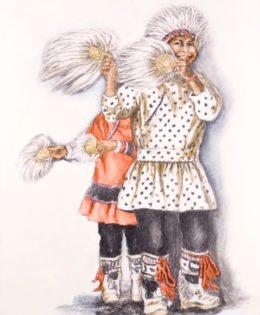 'Fan Dancers'