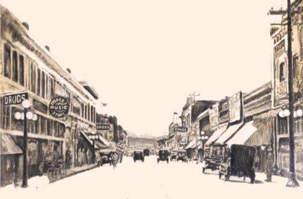 'Rush Hour 1907'